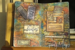 Adventure... come along on a mixed media trip!