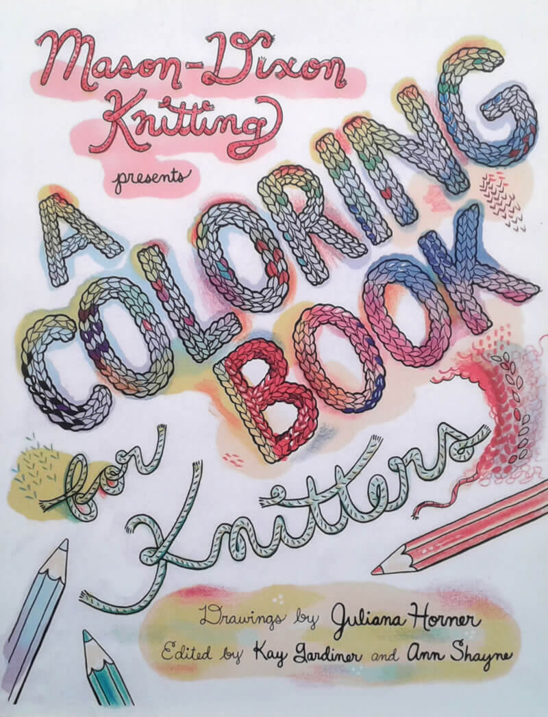 2016-03-22 - Coloring book for knitters