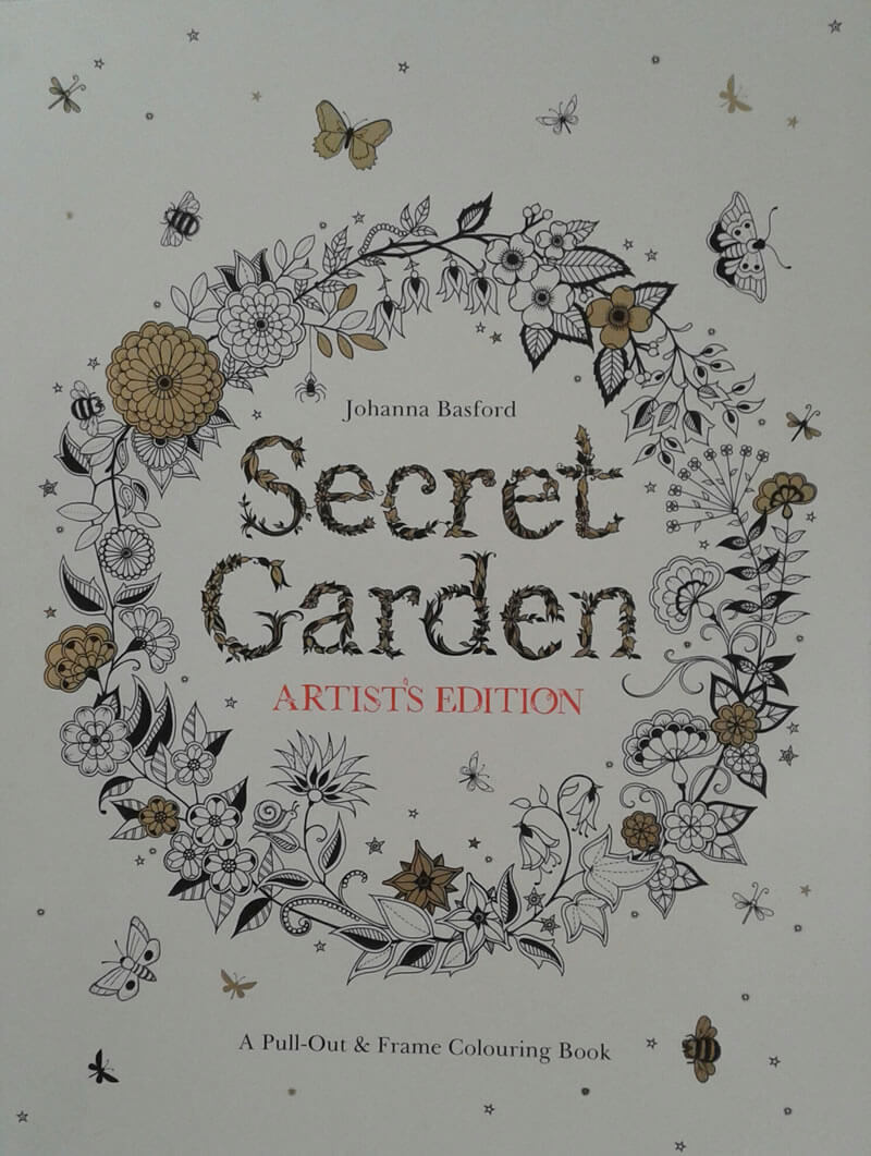 2016-04-27 - Secret Garden artist's edition (in Londen gekocht)