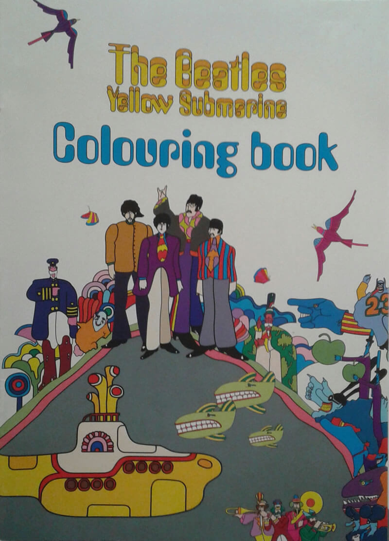 2016-04-29 - Beatles colouring book (gekocht in Londen)