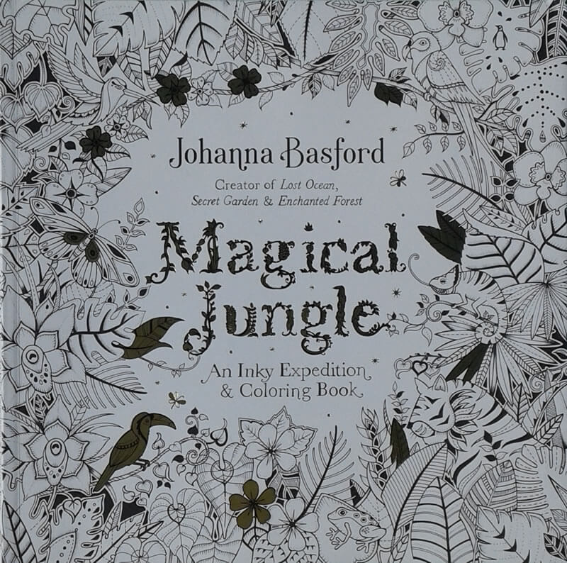 2016-09-23 - Magical Jungle Johanna Basford