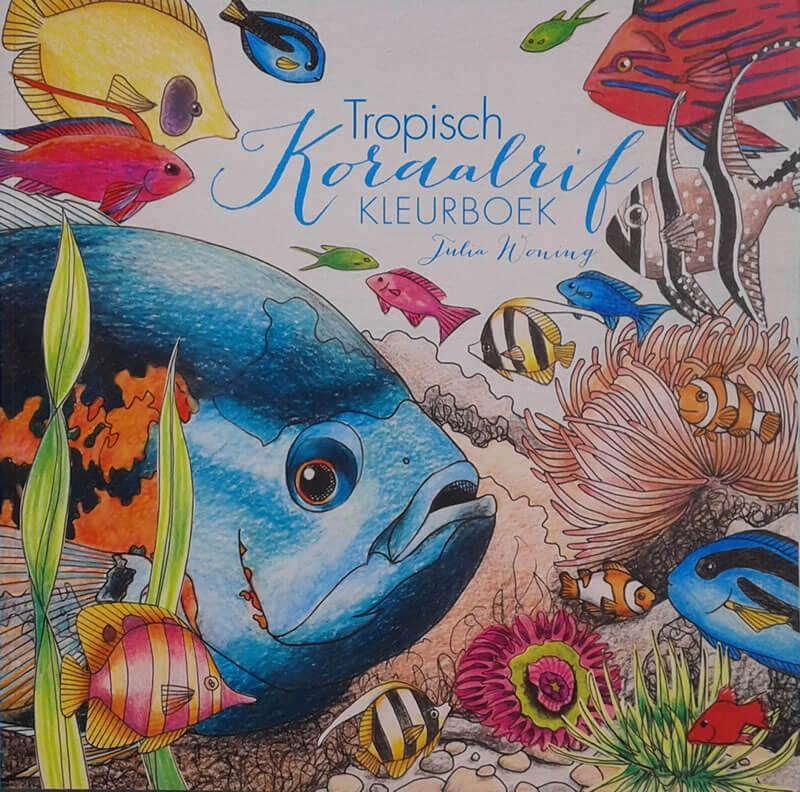 2016-09-29 - Tropisch Koraalrif kleurboek
