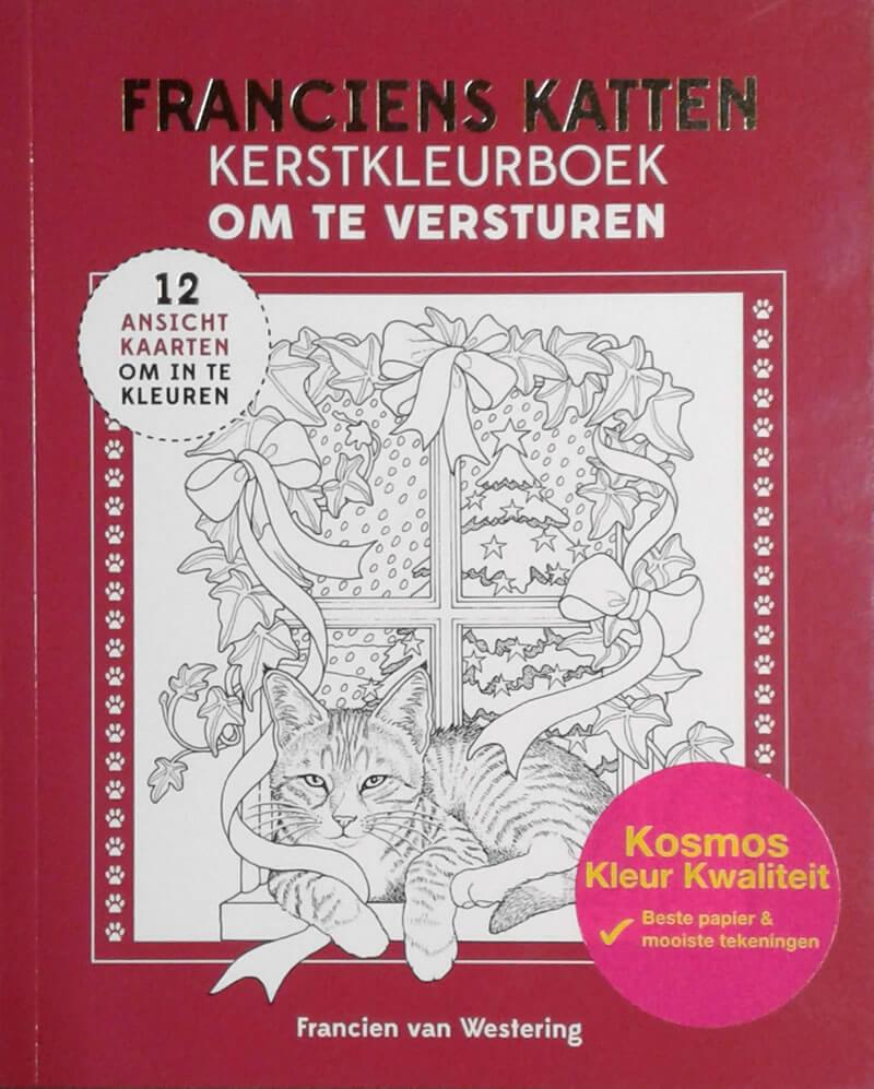 2016-10-29 - Franciens Katten Kerstkleurboek