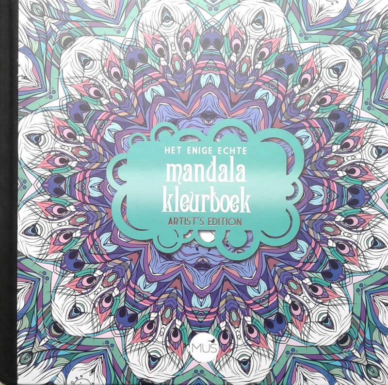 2017-07-05 - Het enige echte mandalakleurboek - artist's edition