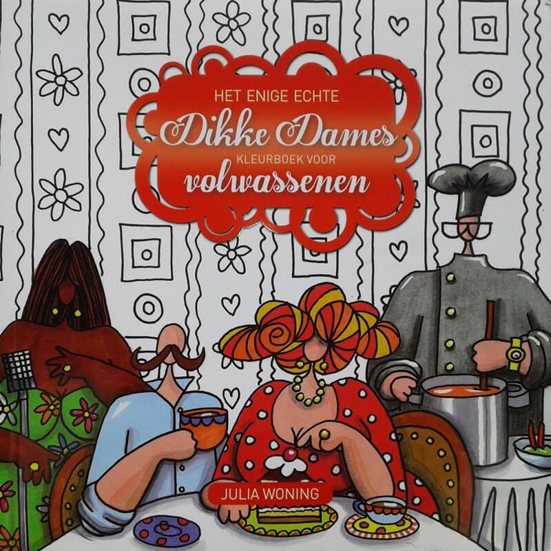 2017-11-01 - Enige Echte Dikke Dames Kleurboek voor Volwassenen