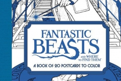 2016-12-16 - Fantastic Beasts and where to find them postcards