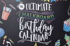 2017-03-02 - The Ultimate Chalkboard Birthday Calendar