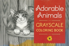 2017-08-28 - Adorable Animals Grayscale