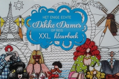 2017-11-01 - Enige Echte Dikke Dames op Reis XXL Kleurboek