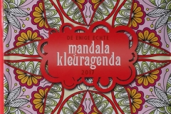 The One and Only Mandala Coloring Agenda 2017
