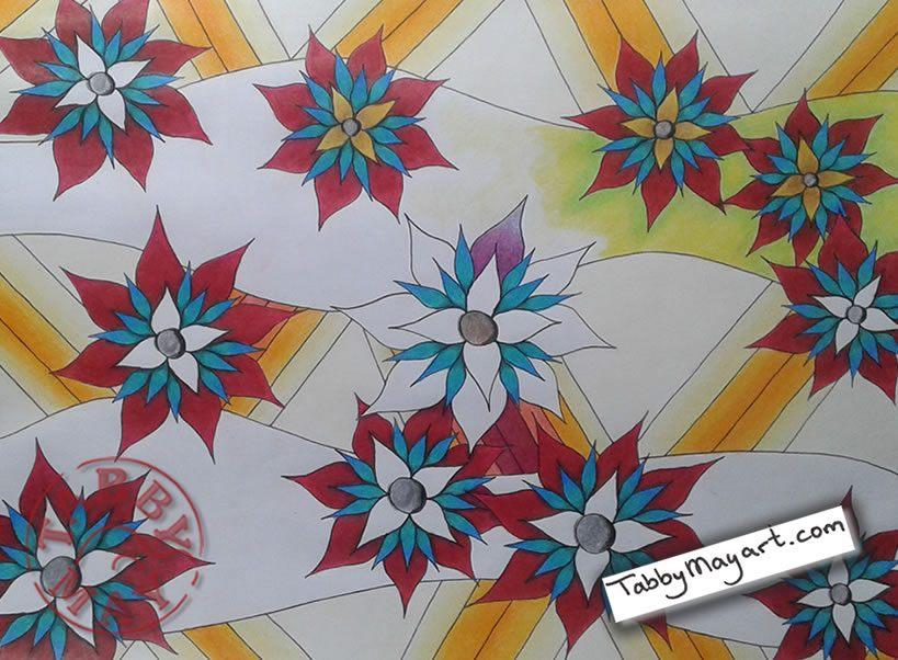 Doodled Blooms