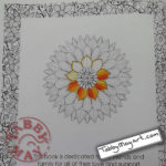 Untangle Sun Flower w.i.p.