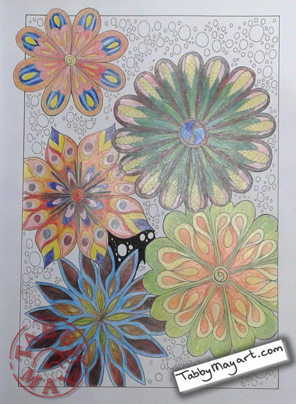 Untangle Flowers w.i.p.