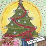 Big Girls Christmas tree finished