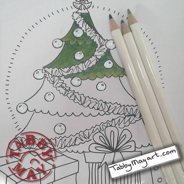Big Girls Christmas tree