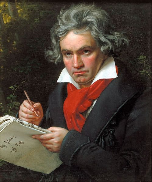 Mr. von Beethoven appears on YouTube too.