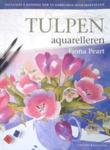 Tulpen aquarelleren cover