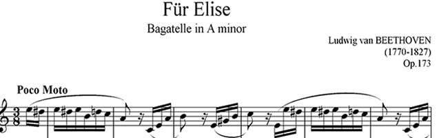 Für Elise on YouTube