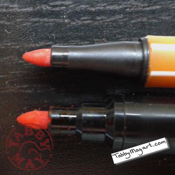 Stabilo 68 vs. Lyra Art Pen