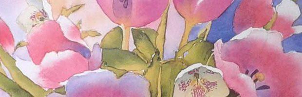 Review Tulpen aquarelleren