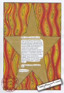 Johanna Ans / Wood you color me - Firestar