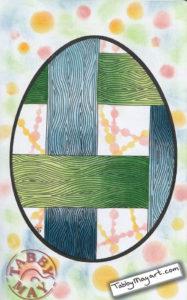 Johanna Ans / Wood you color me - Wooden Easter Egg
