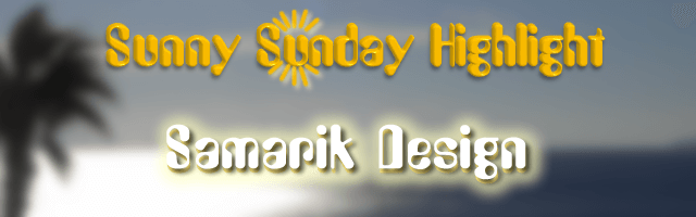 Sunny Sunday Highlight Samarik Design Sandy Wijsbeek