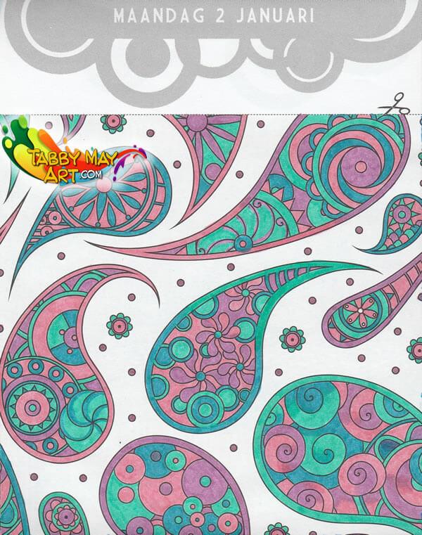 De Enige Echte Kleurscheurkalender 2017 - BBNC - Drops of grink and peen
