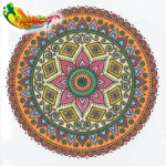 The One and Only Mandala Coloring Agenda 2017 - 01