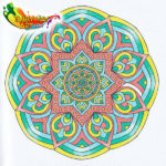 The One and Only Mandala Coloring Agenda 2017 - 03