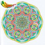 De Enige Echte Mandala Kleuragenda 2017 - 03