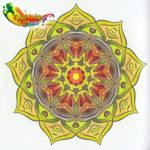 De Enige Echte Mandala Kleuragenda 2017 - 04