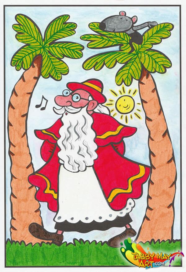Het grote kleurboek van Sinterklaas - BBNC - Sint in Spanje