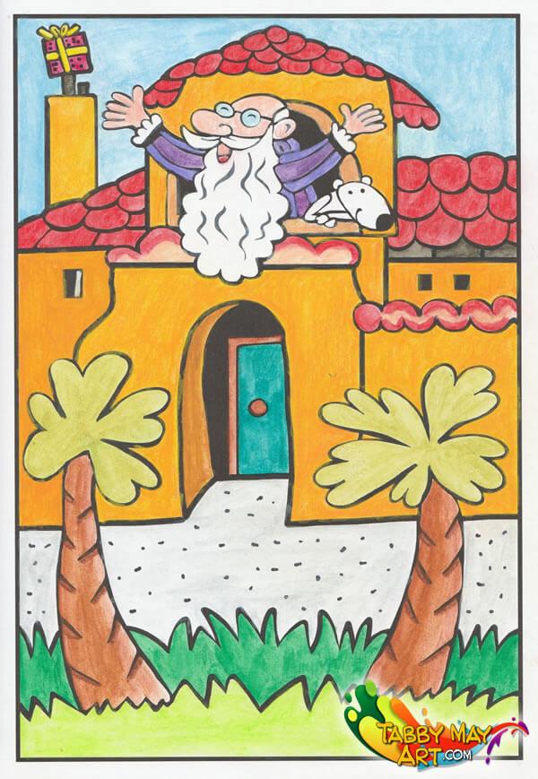 Het grote kleurboek van Sinterklaas - BBNC - Sint in Andalusië