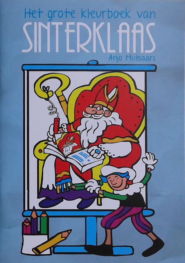 Het grote kleurboek van Sinterklaas - BBNC - Cover