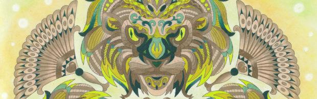 Mannenkleurboek - Lantaarn