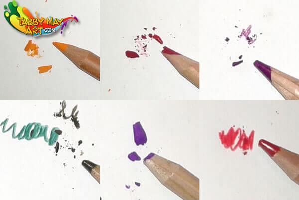 Marco Renoir kleurpotloden productiefout