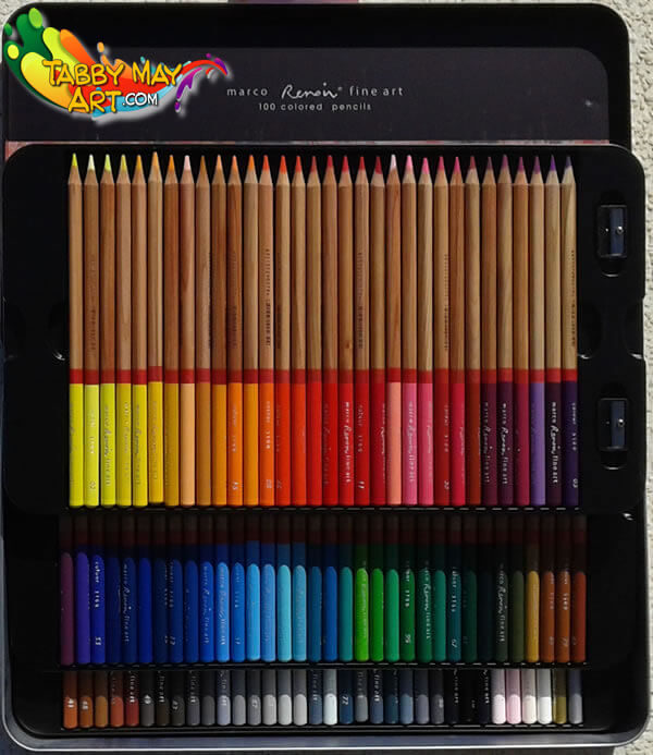 Marco Renoir colored pencils