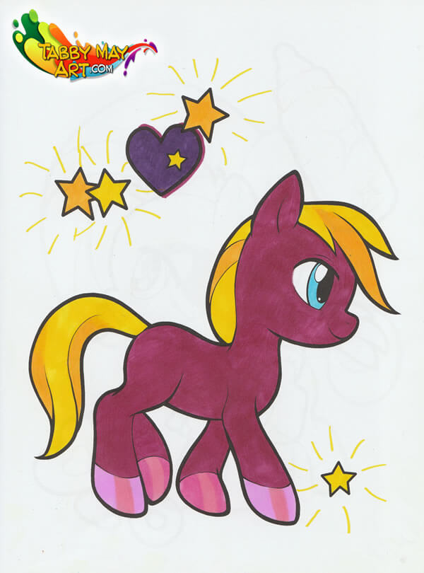 Little Pony - BBNC Uitgevers - Sharpie