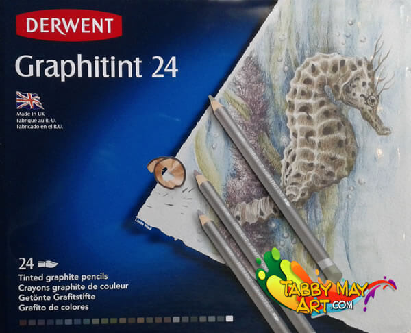 Typical Dutch - Derwent Graphitint - Tabby May Art