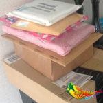 Vakantie en nieuwe kleurspullen - Pakjes die op me wachtten