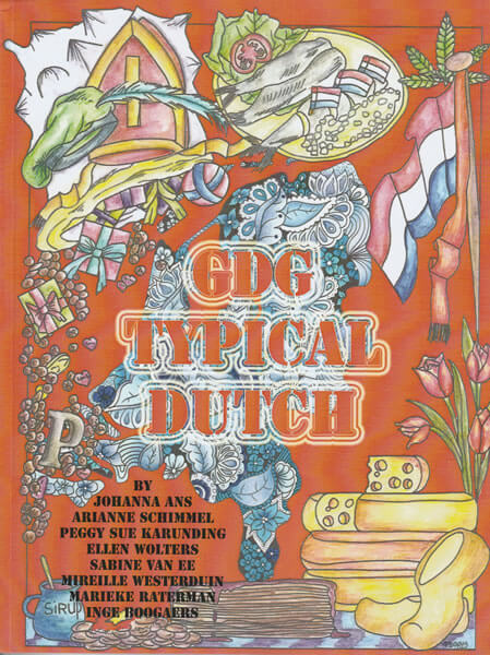 Typical Dutch cover - Global Doodle Gems - Tabby May Art