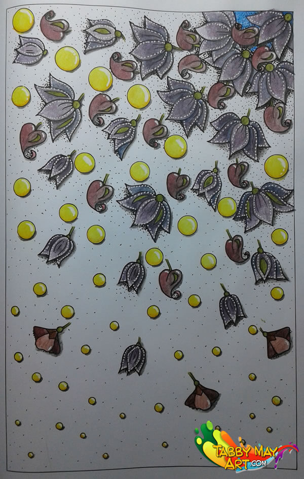 Yellow marbles - Typical Dutch - Global Doodle Gems - Tabby May Art
