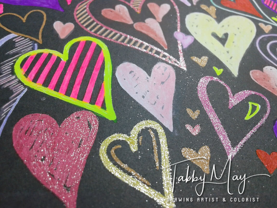 Chalk-Style Expressions - BBNC Publishers - Tabby May Art - expression 3