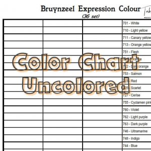 Bruynzeel Expression Colour 36 set