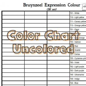 Bruynzeel Expression Colour 36 set
