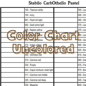 Stabilo CarbOthello Pastel