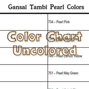 Gansai Tambi Pearl Colors