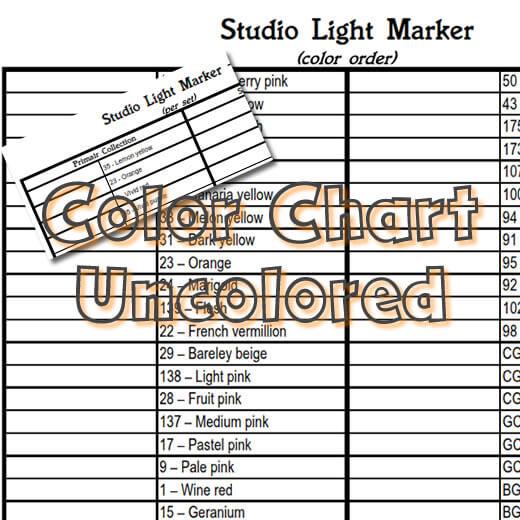 Studio Light water-based marker