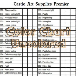 Castle Art Supplies - Premier pencils